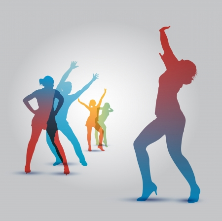 group fitness: school of Dance Illustration