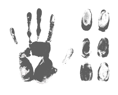 distinguish: fingerprint