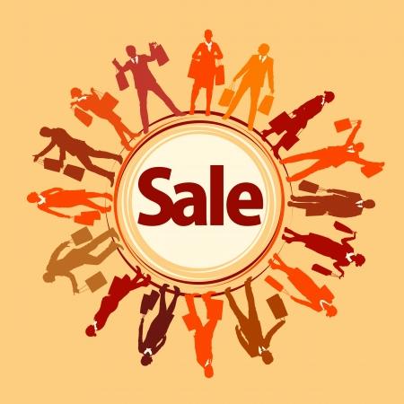 shopping sale poster Stock Vector - 16527053