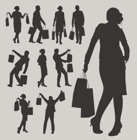 shopper: shopping Illustration
