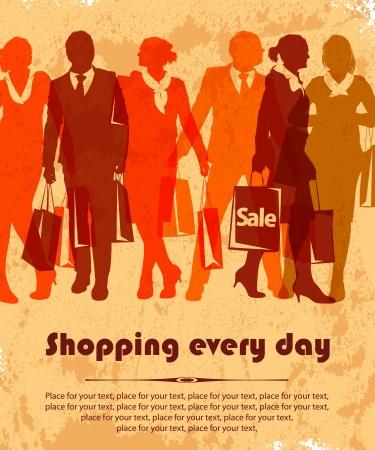 shopper Stock Vector - 16527238
