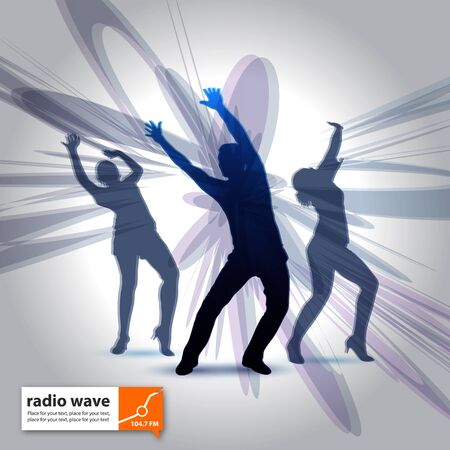 radio wave Vector