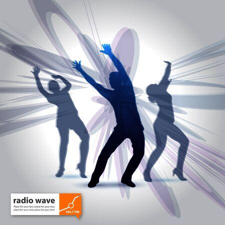 telecast: radio wave