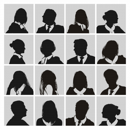 business people Stock Vector - 16643091