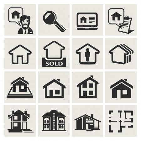 rental house: arquitectura Vectores