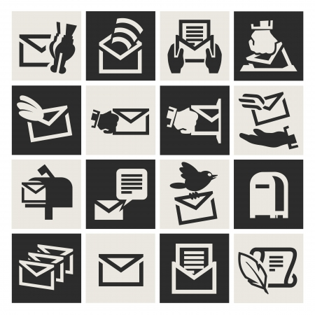 E-mail icon Stock Vector - 17740716