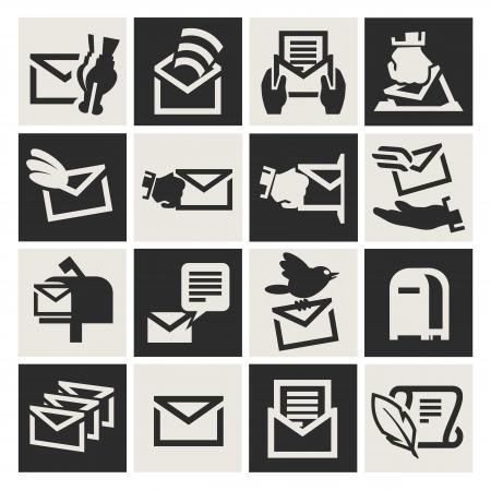 E-mail icon Stock Vector - 17740716