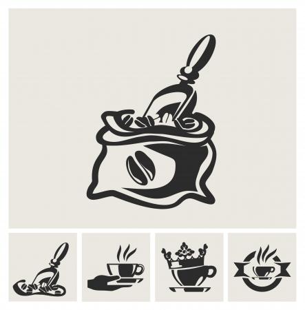 grano de cafe: café