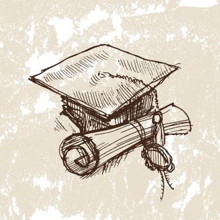 degree: studente Vettoriali