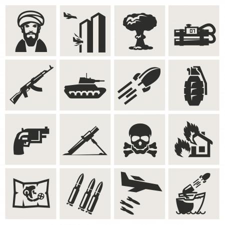 bombing: terrorisme Stock Illustratie