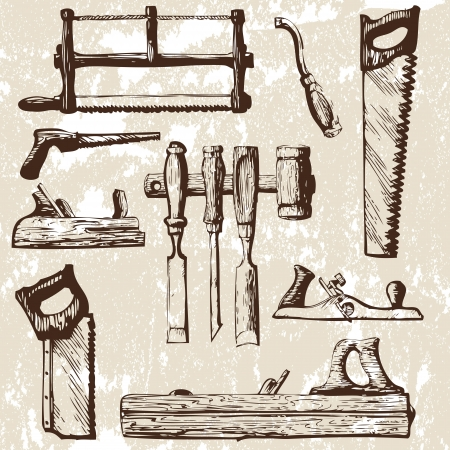 chisel: set of tools Illustration