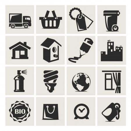 Icons in a vector Stock Vector - 18357480