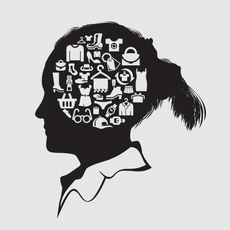 infogaphics: Set of icons. clothing