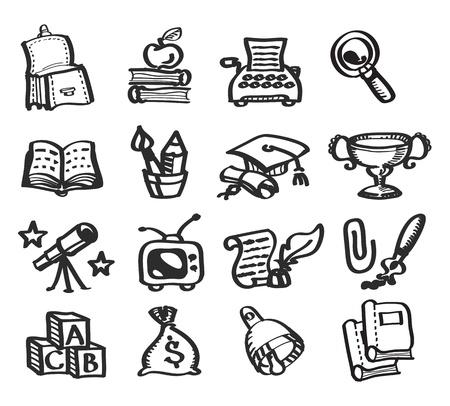 classroom supplies: Ilustraci?n de la Educaci?n