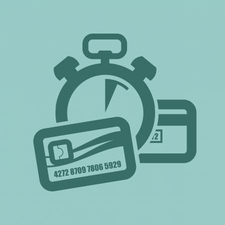 cvv: Payment  Vector illustration Illustration