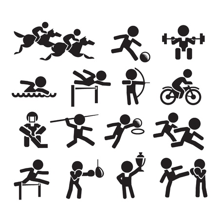 piscina olimpica: iconos del deporte