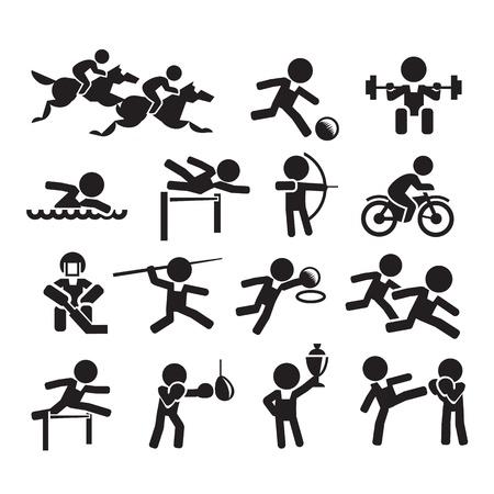 hobby: icons sport