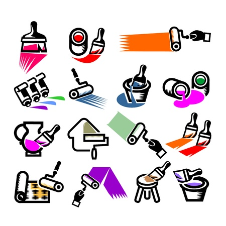 Repair Icons. Vector illustration Vector