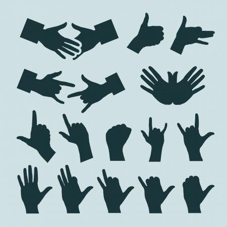Hands. Vector illustration Stock Vector - 20707981