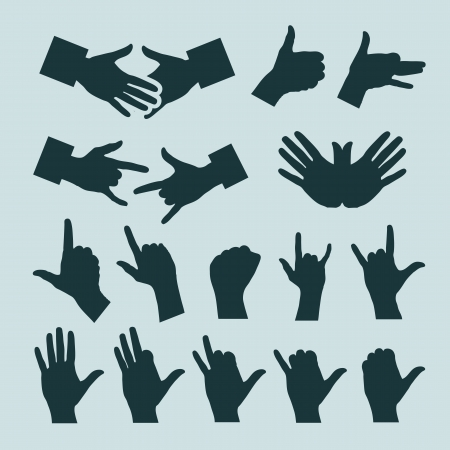 Hands. Vector illustration Stock Vector - 20707981