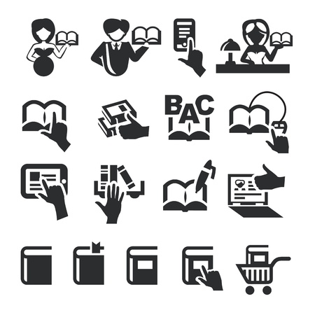 Book icons Stock Vector - 20960690