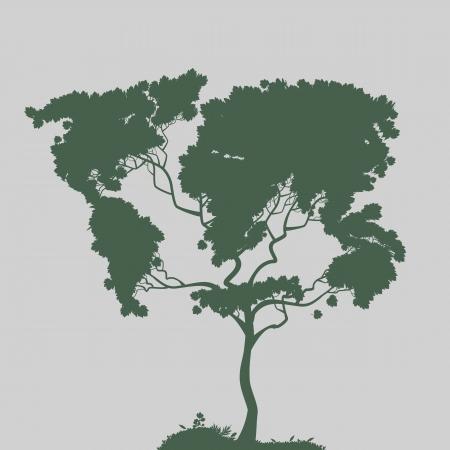 Symbol of nature, vector Stock Vector - 20961590