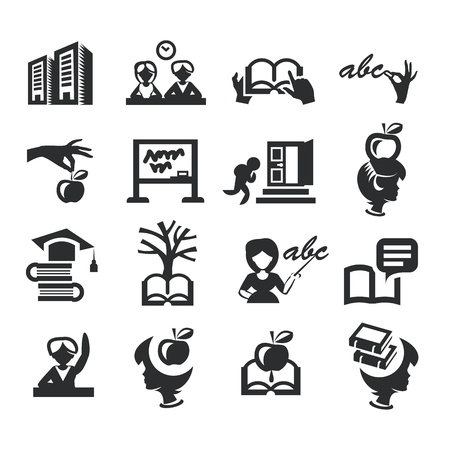 High education Vector