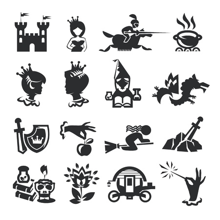 fairy princess: fairy tale icons
