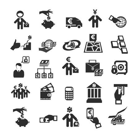 shares: Business icons