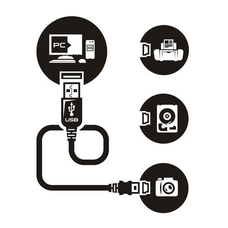 USB Stock Vector - 21425368