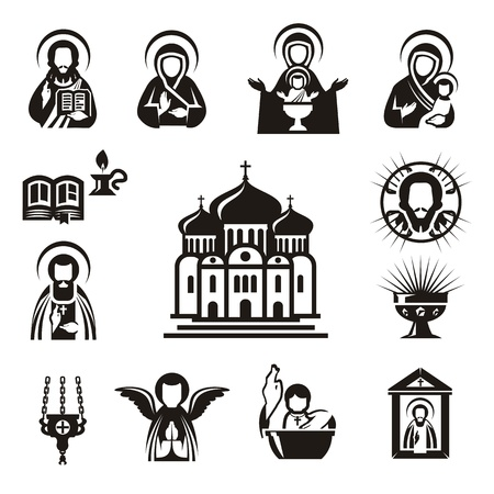 Religious icons Reklamní fotografie - 21425433