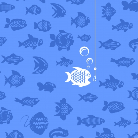 Fishing illustration Vector