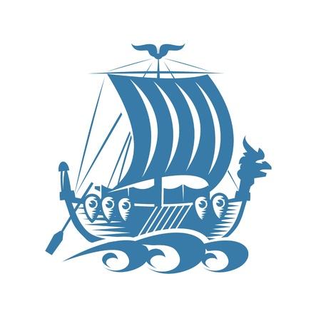 Bateau Viking Banque d'images - 21425453