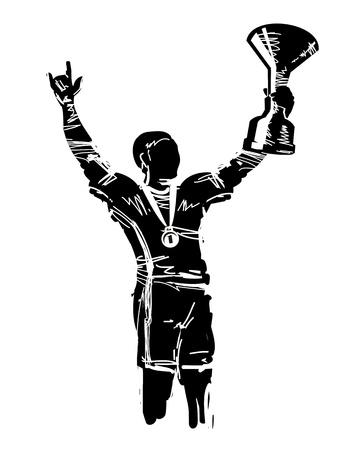 exited: Champion Illustration