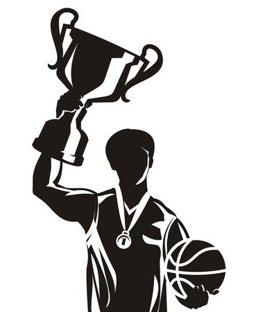 Basketball. Vector illustration Vector