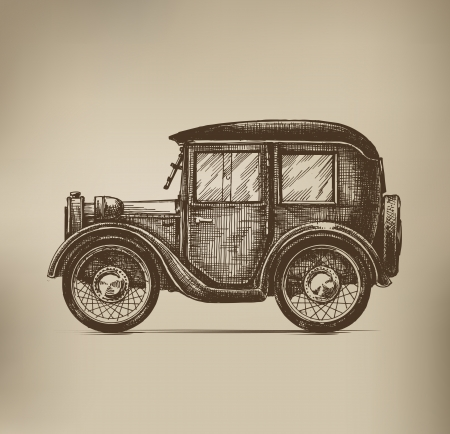 Vintage Car Stock Vector - 21879724