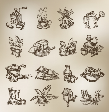 watering pot: Vintage icons