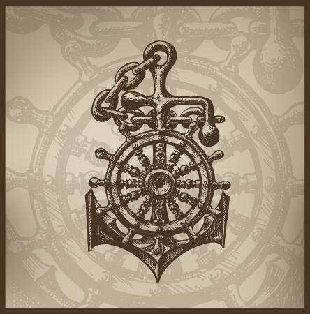 seaman: Steering wheel