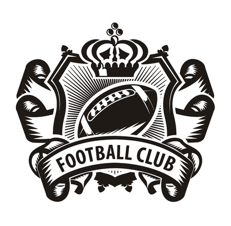 nfl: Football club Illustration