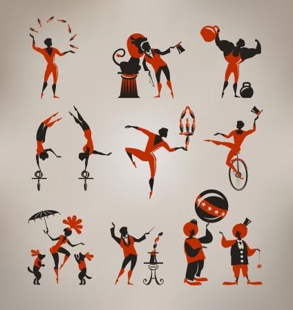 Artistes de cirque Banque d'images - 22261315
