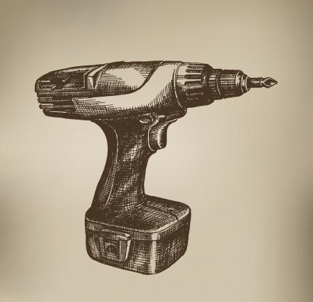 Schroevendraaier. Vector Format