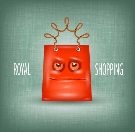 Shopping royal Stock Vector - 22449727