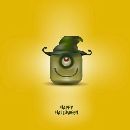 happy halloween: Happy Halloween  Vector format