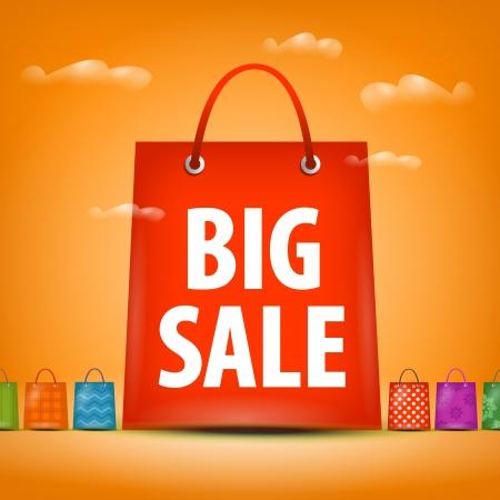 pricetag:  big sales