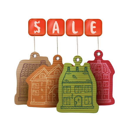 Sale. Buying a Home Stock Vector - 22734297