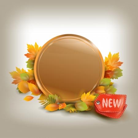 Autumnal discount Stock Vector - 22734538