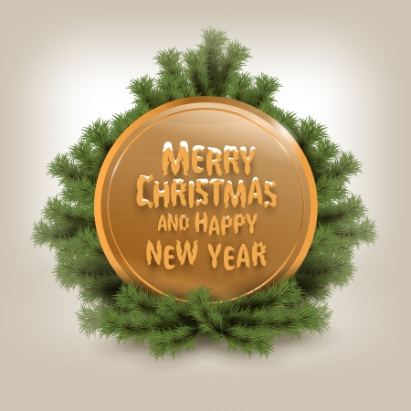 Merry Christmas. Stock Vector - 22719181