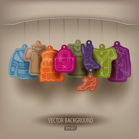 Boutique. Vector