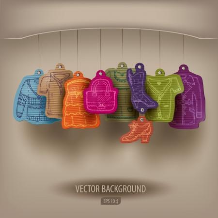 Boutique. Stock Vector - 22734665
