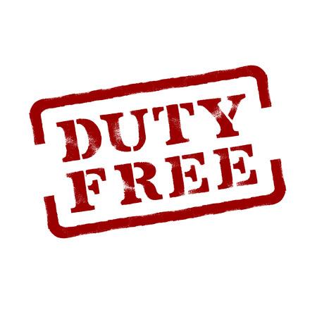 Duty Free  Vector format Stock Vector - 23042237